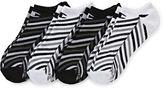 Champion 4-pk. Double Dry Striped No-Show Socks