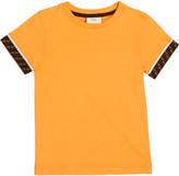 Fendi Boy's Short-Sleeve T-Shirt w/ Logo Taping, Size 8-14