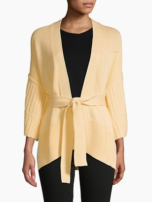 Brochu Walker Wide-Sleeve Cotton Cardigan