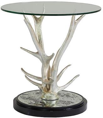 Artistica Teton Side Table - Silver Leaf