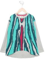 Fendi Girls' Printed High-Low Top w/ Tags