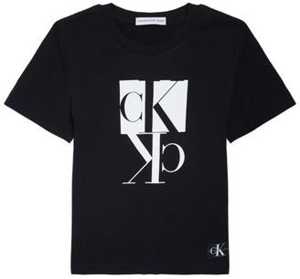 Calvin Klein Kids Mirror Monogram T-Shirt