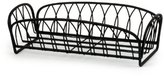 Spectrum 92110 Twist Bread Basket, Black