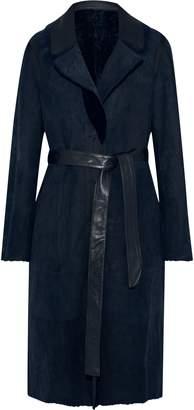 Yves Salomon Lacon Reversible Shearling Coat