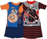 AME Sleepwear Star Wars Summer Short 4-Piece Pajama Set