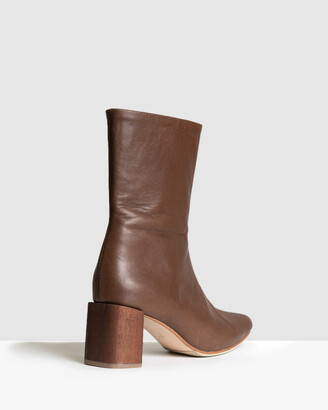 James Smith JAMES | SMITH - Women's Brown Ankle Boots - Bergamo Boots - Size One Size, 39 at The Iconic