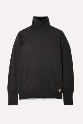 MICHAEL Michael Kors Knitted Turtleneck Sweater - Black