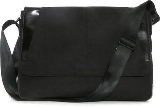 Boconi Collins Canvas Messenger Bag