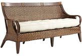Pier 1 Imports Temani Brown Wicker Sofa