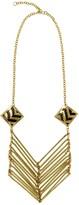 Mela Artisans Lolita in Black Gold Necklace