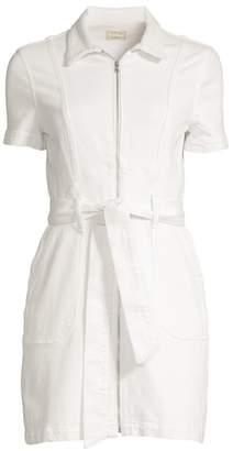 Alice + Olivia Jeans Sugar Zip Front Shirtdress