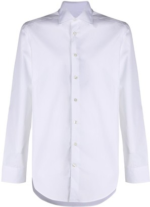 Etro Slim Fit Spread Collar Shirt