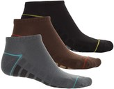 Specially made Cushioned No-Show Socks - 3-Pack, Below the Ankle (For Big Boys)