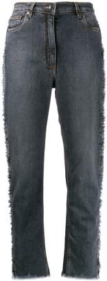 Etro Paisley Stripe Jeans