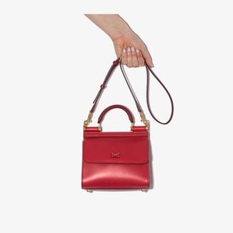 Dolce & Gabbana Red mini Sicily 58 cross body bag