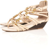 NATALIA Metal Beaded Wedges