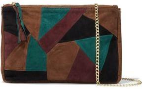 Antik Batik Austin Patchwork Suede Clutch