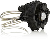 Joseph Williams Black Oyster Napkin Ring-BLACK