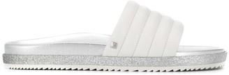 Högl padded slide sandals