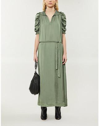 Zadig & Voltaire Ray crepe maxi dress
