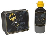 Lego Batman Lunch Set, Lunch Box and Drinking Bottle - Black, 2-Piece