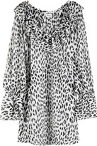 Alessia leopard print tunic