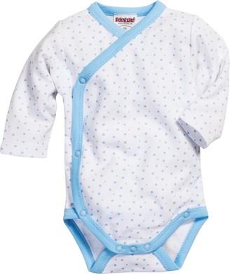 Schnizler Baby Boys 0-24m Wickelbody Sterne Allover Bodysuit