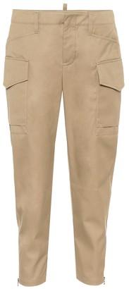 Tod's Cotton gabardine cargo pants