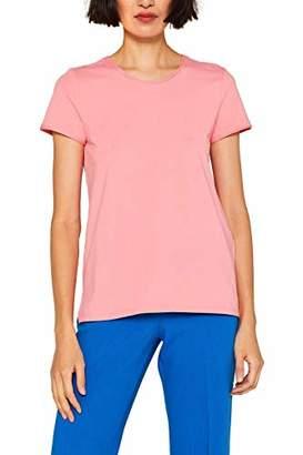 Esprit edc by Women's 049CC1K014 T-Shirt, (Dark Green 300)