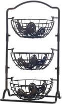 Mikasa Gourmet Basics 3 Tier Rooster Hanging Basket
