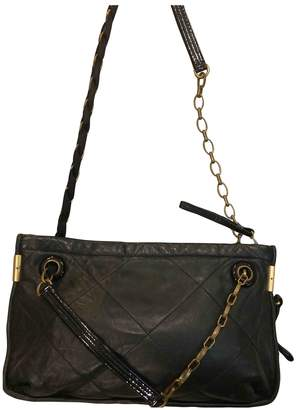 Lanvin Amalia Black Leather Handbags
