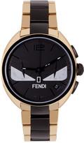 Fendi Gold & Black Momento Bugs Watch