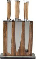 Schmidt Bros Zebra Stripe 7-Piece Knife Set