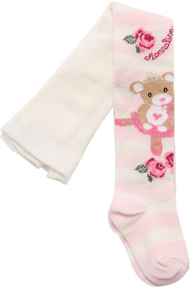 MonnaLisa Bear Cotton Knit Tights