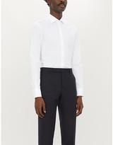 Pal Zileri Slim-fit cotton-blend shirt