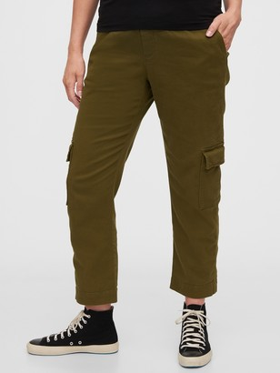 Gap Maternity True Waistband Full Panel Cargo Pants