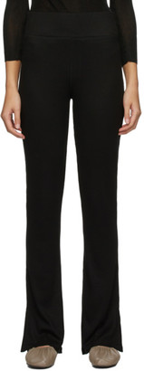 Rag & Bone Black The Knit Rib Lounge Pants