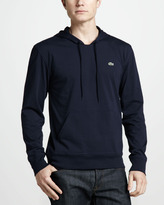 Lacoste Pullover Jersey Hoodie, Navy Blue