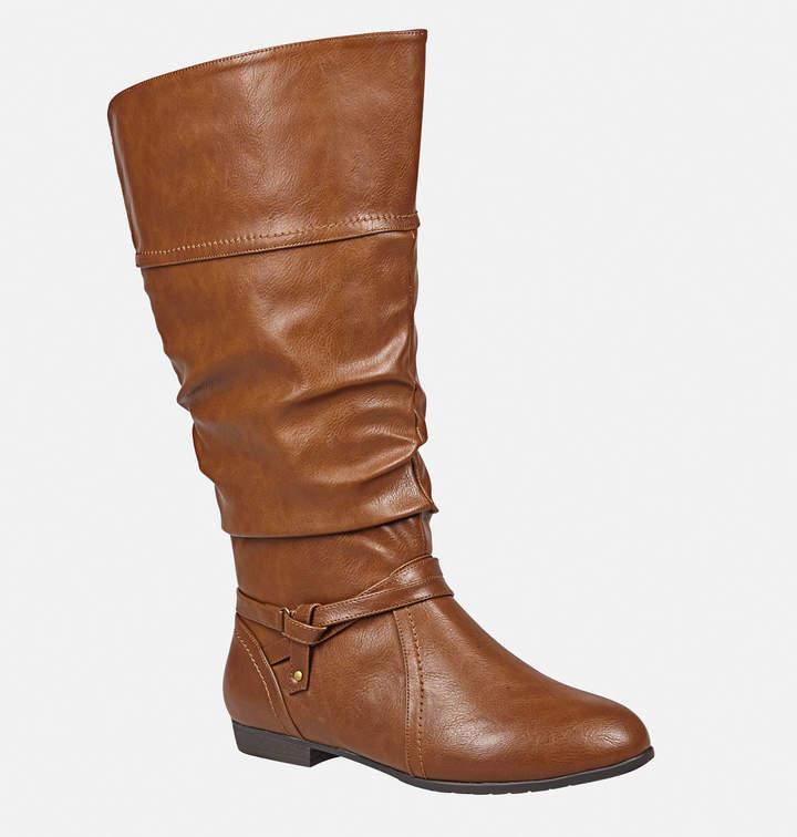 Avenue Faren Ruche Belted Flat Boot