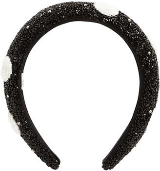 Ganni Beaded Headband