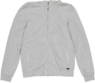 Loro Piana Grey Cotton Knitwear