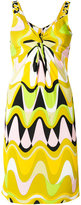 Emilio Pucci patterned fitted dress - women - Silk/Rayon - 42