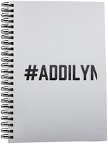 Fotomax Notebook with #ADDILYN