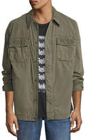 True Religion Logo-Print Field Jacket