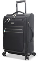 """Steve Madden Patchwork 21"""" Expandable Carry On Spinner Suitcase"""