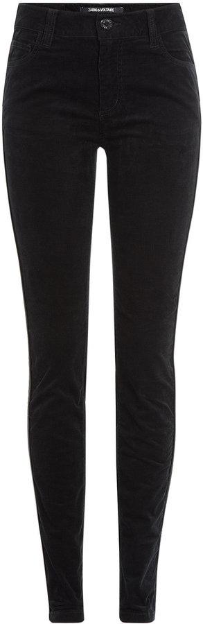 Zadig & Voltaire Corduroy Skinny Pants