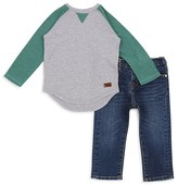 7 For All Mankind Boys' Raglan Tee & Slim-Fit Jeans Set - Little Kid