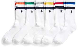 Ralph Lauren Striped Crew Sock 6-Pack