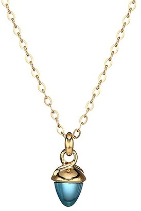 Tamara Comolli My Mikado 18K Yellow Gold & Swiss Topaz Acorn Pendant Necklace