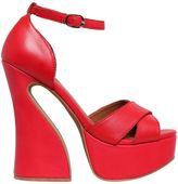 Jeffrey Campbell 130mm Stefanya Leather Sandals